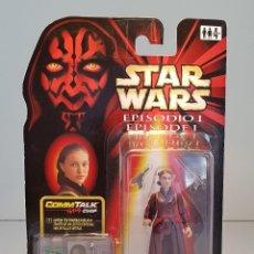 Figuras y Muñecos Star Wars: FIGURA DE STAR WARS, REINA AMIDALA, EPISODIO I, AMENAZA FANTASMA, ORIGINAL HASBRO, VERSION ESPAÑOLA. Lote 139265854