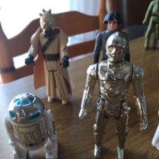 Figuras y Muñecos Star Wars: FIGURAS STAR WARS 1977 NUEVO 11 FIGURAS ORIGINALES. Lote 139597862