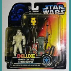 Figuras y Muñecos Star Wars: STAR WARS # STORMTROOPER DELUXE # THE POWER OF THE FORCE - NUEVO EN SU BLISTER ORIGINAL DE KENNER.. Lote 139661509