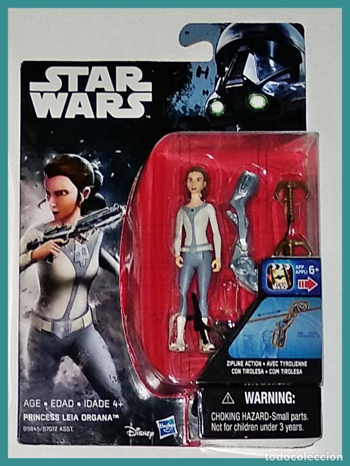 STAR WARS # PRINCESS LEIA ORGANA # NUEVO EN SU BLISTER ORIGINAL DE HASBRO. (Juguetes - Figuras de Acción - Star Wars)