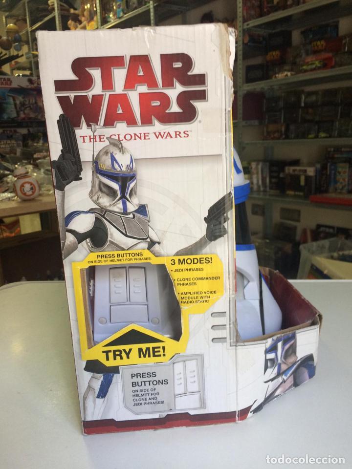 Figuras y Muñecos Star Wars: CASCO CAPTAIN REX, ELECTRONIC COMMAND HELMET, STAR WARS, HASBRO, NUEVO - CLONE WARS - Foto 3 - 139871874