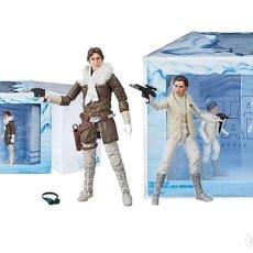 Figuras y Muñecos Star Wars: HAN SOLO & PRINCESS LEIA ORGANA (STAR WARS - THE BLACK SERIES). Lote 139897050