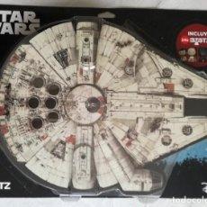 Figuras y Muñecos Star Wars: FIGURA STAR WARS: HALCON MILENARIO + 24 BUSTZ - NUEVO Y COMPLETO. Lote 154872322