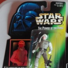 Figuras y Muñecos Star Wars: STAR WARS - FIGURA LUKE SKYWALKER HOTH - POWER OF THE FORCE - HOLOGRAMA. Lote 140474702