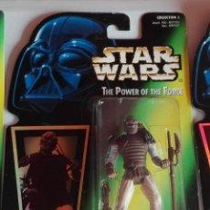 Figuras y Muñecos Star Wars: STAR WARS - FIGURA WEEQUAY - POWER OF THE FORCE - HOLOGRAMA. Lote 140474766