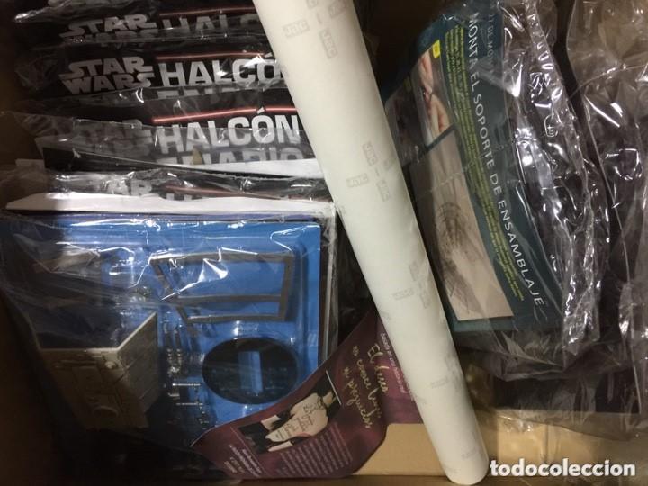 Figuras y Muñecos Star Wars: STAR WARS. HALCOM MILENARIO. PRIMERAS 24 ENTREGAS EN SU BLISTER ORIGINAL - Foto 2 - 140535794
