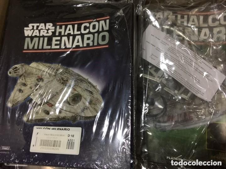 Figuras y Muñecos Star Wars: STAR WARS. HALCOM MILENARIO. PRIMERAS 24 ENTREGAS EN SU BLISTER ORIGINAL - Foto 3 - 140535794
