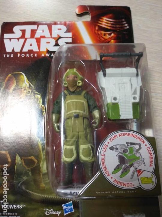 Figuras y Muñecos Star Wars: Figura Star Wars The Force awakens (El despertar de la Fuerza): Goss Toowers - Nueva, en su blister - Foto 2 - 140915222