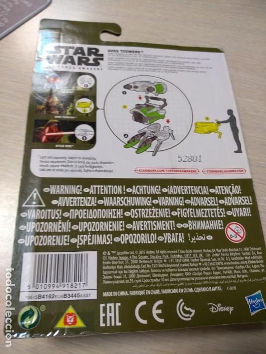 Figuras y Muñecos Star Wars: Figura Star Wars The Force awakens (El despertar de la Fuerza): Goss Toowers - Nueva, en su blister - Foto 3 - 140915222