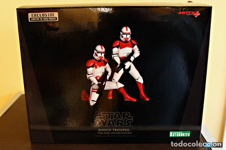 KOTOBUKIYA ARTFX+ STATUE 2-PACK SHOCK TROOPER LIMITED EDITION 1/10 18 CM (Juguetes - Figuras de Acción - Star Wars)