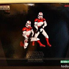 Figuras y Muñecos Star Wars: KOTOBUKIYA ARTFX+ STATUE 2-PACK SHOCK TROOPER LIMITED EDITION 1/10 18 CM. Lote 140941254