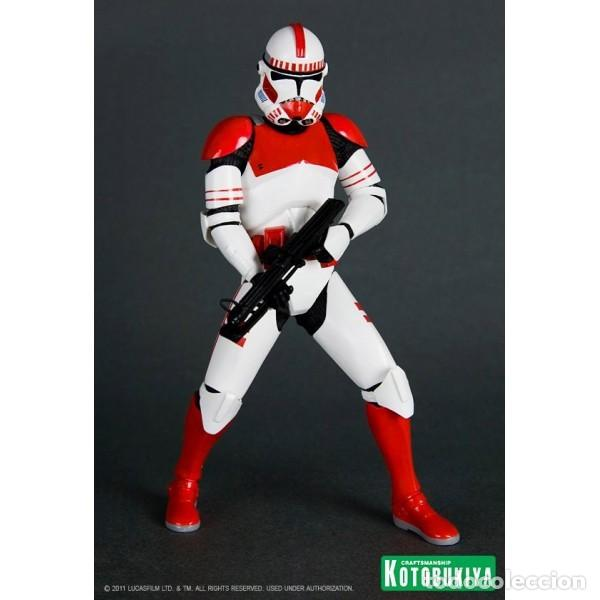 Figuras y Muñecos Star Wars: Kotobukiya ARTFX+ STATUE 2-PACK SHOCK TROOPER LIMITED EDITION 1/10 18 CM - Foto 7 - 140941254
