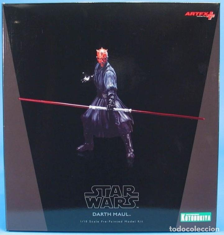 KOTOBUKIYA ARTFX DARTH MAUL STAR WARS EPISODIO 1-LA AMENAZA FANTASMA 1/10 (Juguetes - Figuras de Acción - Star Wars)