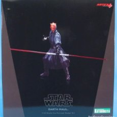 Figuras y Muñecos Star Wars: KOTOBUKIYA ARTFX DARTH MAUL STAR WARS EPISODIO 1-LA AMENAZA FANTASMA 1/10 . Lote 140943034