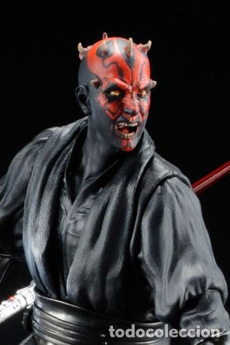 Figuras y Muñecos Star Wars: Kotobukiya Artfx Darth Maul Star Wars episodio 1-La amenaza fantasma 1/10 - Foto 4 - 140943034