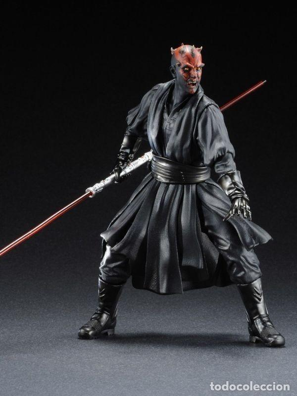 Figuras y Muñecos Star Wars: Kotobukiya Artfx Darth Maul Star Wars episodio 1-La amenaza fantasma 1/10 - Foto 5 - 140943034