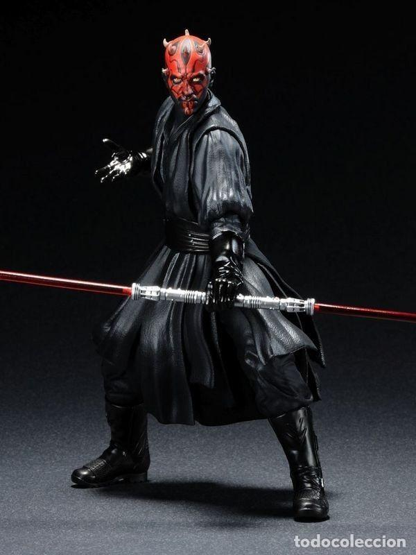 Figuras y Muñecos Star Wars: Kotobukiya Artfx Darth Maul Star Wars episodio 1-La amenaza fantasma 1/10 - Foto 6 - 140943034