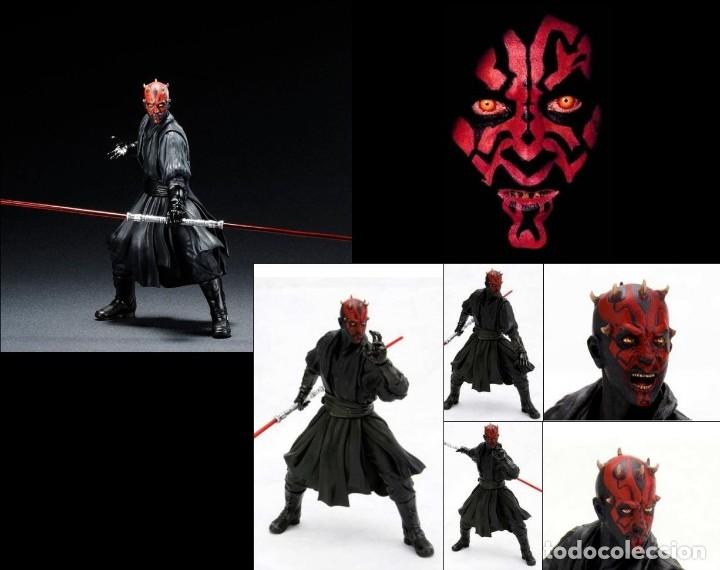 Figuras y Muñecos Star Wars: Kotobukiya Artfx Darth Maul Star Wars episodio 1-La amenaza fantasma 1/10 - Foto 7 - 140943034