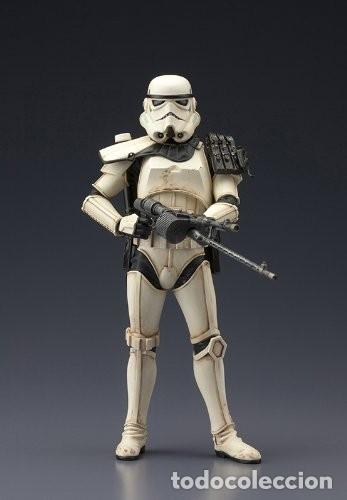 Figuras y Muñecos Star Wars: Kotobukiya Star Wars Sandtrooper Sergeant ArtFX 1/10 - Foto 4 - 140945122