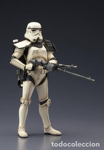 Figuras y Muñecos Star Wars: Kotobukiya Star Wars Sandtrooper Sergeant ArtFX 1/10 - Foto 5 - 140945122