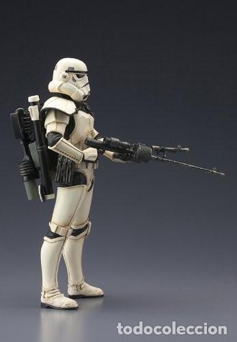 Figuras y Muñecos Star Wars: Kotobukiya Star Wars Sandtrooper Sergeant ArtFX 1/10 - Foto 6 - 140945122