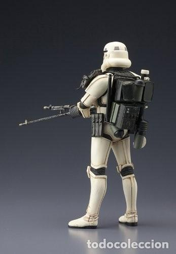 Figuras y Muñecos Star Wars: Kotobukiya Star Wars Sandtrooper Sergeant ArtFX 1/10 - Foto 7 - 140945122