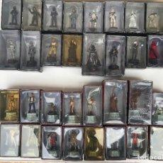 Figuras y Muñecos Star Wars: AJEDREZ STAR WARS NUEVO - 32 FIGURAS DE PLOMO Y TABLERO ORIGINAL - VER FOTOS. Lote 141111962