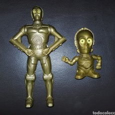 Figuras y Muñecos Star Wars: LOTE FIGURAS PROMOCIONALES STAR WARS C3PO BURGUER KING. Lote 141177414