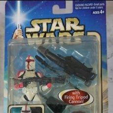 Figuras y Muñecos Star Wars: STAR WARS FIGURA SOLDADO CLONE TROOPER. Lote 141381240