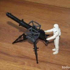 Figuras y Muñecos Star Wars: SNOWTROOPER HOTH CAÑÓN LÁSER STAR WARS KENNER FIGURA VINTAGE 1980. Lote 141600994