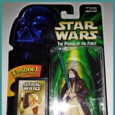Figuren von Star Wars - STAR WARS # BEN ( OBI-WAN ) KENOBI # THE POWER OF THE FORCE - NUEVO EN BLISTER ORIGINAL DE HASBRO. - 141956922