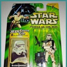 Figuren von Star Wars - STAR WARS # SANDTROOPER # POWER OF THE JEDI - NUEVO EN SU BLISTER ORIGINAL DE HASBRO. - 141959138