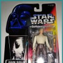 Figuras y Muñecos Star Wars: STAR WARS # HAN SOLO IN CARBONITE # THE POWER OF THE FORCE - NUEVO EN SU BLISTER ORIGINAL DE KENNER.. Lote 142080594