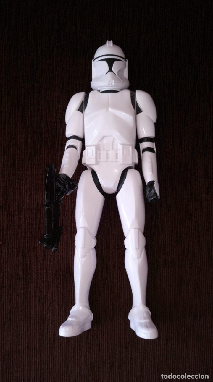Figuras y Muñecos Star Wars: STAR WARS - Soldado Clon / Clon Trooper - Figura Articulada de 30 cm. - Foto 2 - 245719035