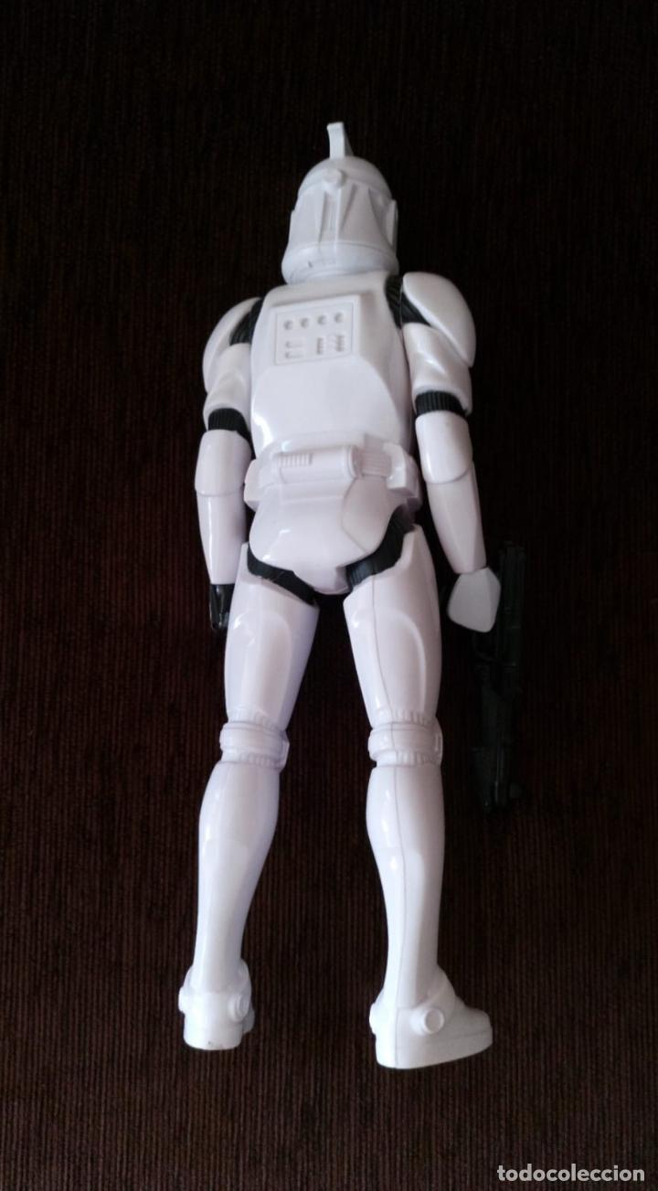 Figuras y Muñecos Star Wars: STAR WARS - Soldado Clon / Clon Trooper - Figura Articulada de 30 cm. - Foto 3 - 245719035