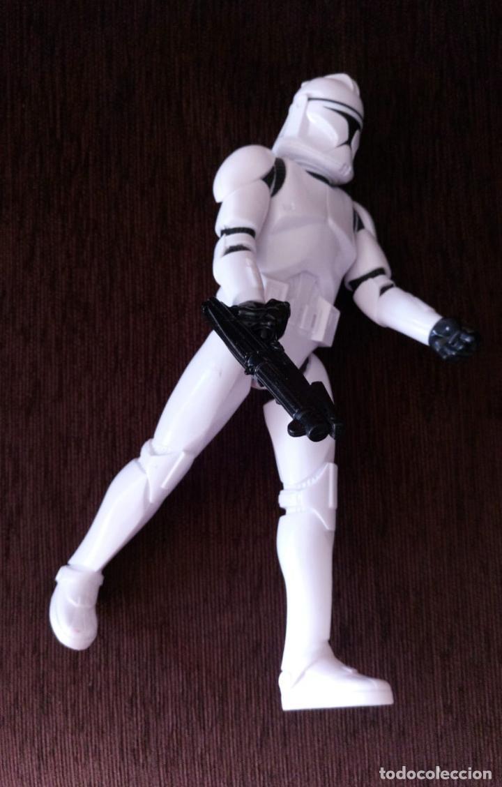 Figuras y Muñecos Star Wars: STAR WARS - Soldado Clon / Clon Trooper - Figura Articulada de 30 cm. - Foto 4 - 245719035