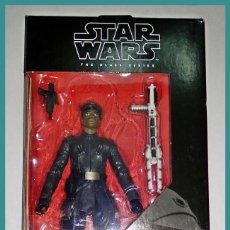 Figuras y Muñecos Star Wars: STAR WARS # FINN (FIRST ORDER DISGUISE) # THE BLACK SERIES, 15 CM APROX - NUEVO EN CAJA DE HASBRO.. Lote 142272770