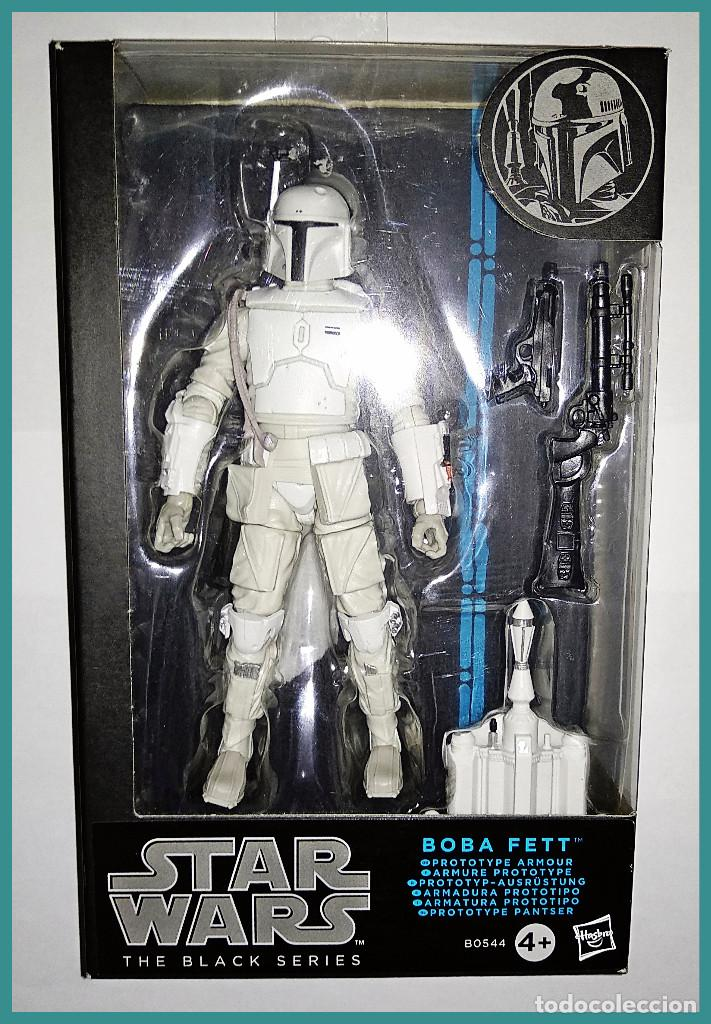 "NEUF Star Wars Boba Fett série black action figure 6 /""prototype armor exclusif"