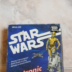 Figuras y Muñecos Star Wars: VINTAGE STAR WARS ELECTRONIC LCD GAME AÑOS 90 EN SU CAJA + INSTRUCCIONES MUY RARO Y DIFICIL. Lote 142309653