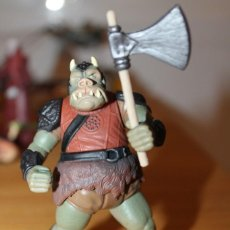 Figuras y Muñecos Star Wars: FIGURA STAR WARS GAMORREAN GUARD 1997 KENNER CHINA LFL CON ARMA. Lote 142482502