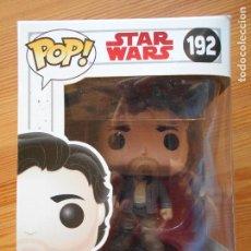 Figuras y Muñecos Star Wars: FUNKO POP - STAR WARS - Nº 192 - POE DAMERON (FB). Lote 142570546