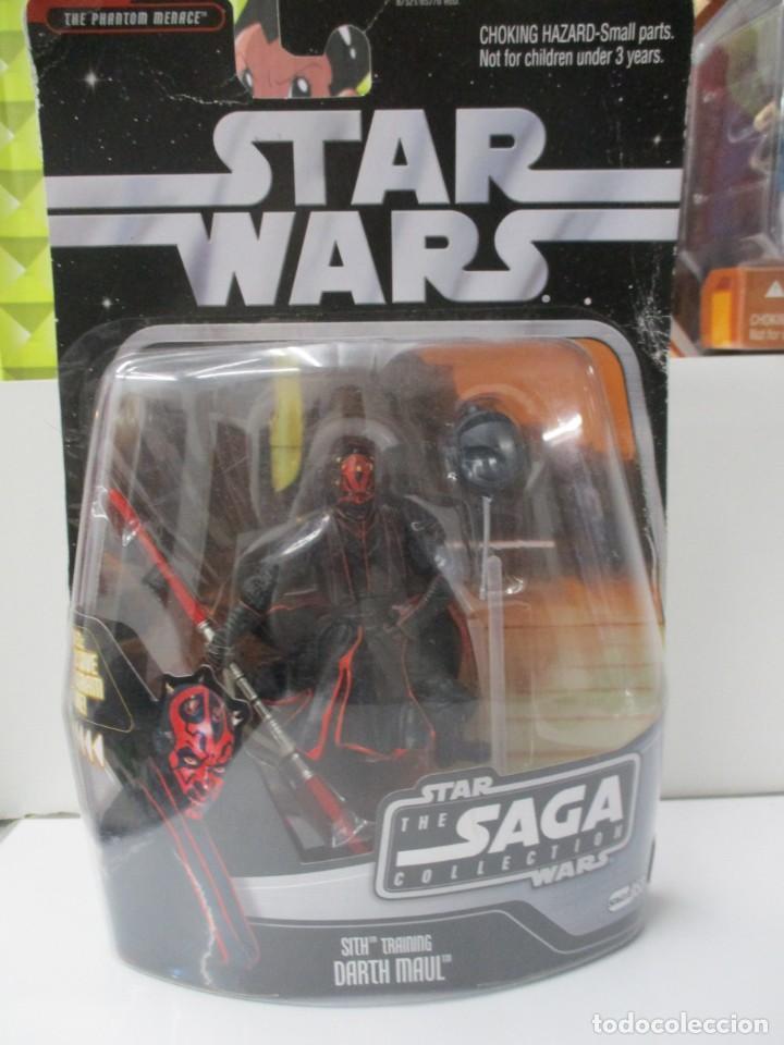 DARTH MAUL - SITH TRAINING - STAR WARS THE SAGA COLLECTION - INCLUYE FIGURA DE HOLOGRAMA - NUEVO (Juguetes - Figuras de Acción - Star Wars)