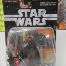 Figures and Dolls Star Wars - DARTH MAUL - SITH TRAINING - STAR WARS THE SAGA COLLECTION - INCLUYE FIGURA DE HOLOGRAMA - NUEVO - 142660610