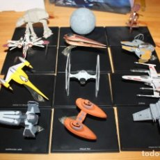 Figuras y Muñecos Star Wars: LOTE 12 NAVES STAR WARS COLECCION PLANETA DEAGOSTINI. Lote 142738174