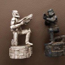 Figuras y Muñecos Star Wars: LOTE 2 FIGURAS STAR WARS. Lote 143051236