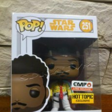 Figuras y Muñecos Star Wars: STAR WARS - FUNKO - LANDO CALRISSIAN - HOT TOPIC EXCLUSIVE - VINYL BOBBLE HEAD - 251 - POP - NUEVO. Lote 143169374