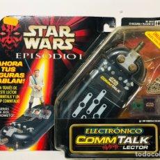 Figuras y Muñecos Star Wars: COMMTALK LECTOR ELECTRÓNICO DE STAR WARS EPISODIO 1 AHORA TUS FIGURAS HABLAN DE HASBRO. Lote 143544500