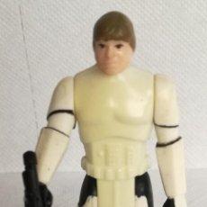 Figuras y Muñecos Star Wars: FIGURA STAR WARS: LUKE SKYWALKER CON TRAJE STORMTROOPER CON PISTOLA BLASTER, KENNER 1984 (A-D). Lote 143719658