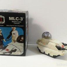 Figuras y Muñecos Star Wars: ANTIGUA NAVE MLC-3 DE STAR WARS - MOBILE LASER CANON - RETORNO JEDI - LUCAS FILM LTD 1981 - EN SU CA. Lote 143757746