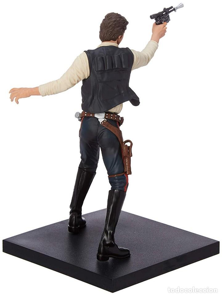 Figuras y Muñecos Star Wars: Kotobukiya Star Wars Artfx Han Solo and Chewbacca 1/10 - Foto 3 - 143833686